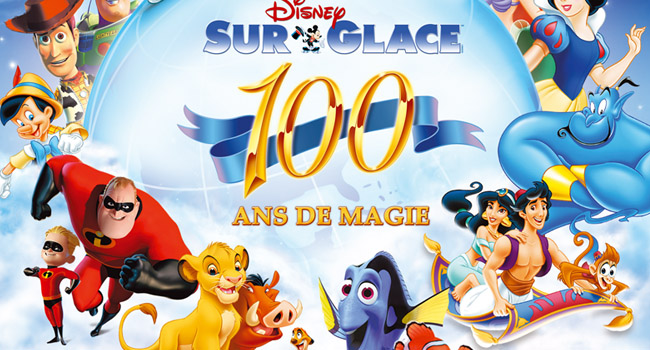 disney sur glace 100 ans de magie bibi 39 s life. Black Bedroom Furniture Sets. Home Design Ideas