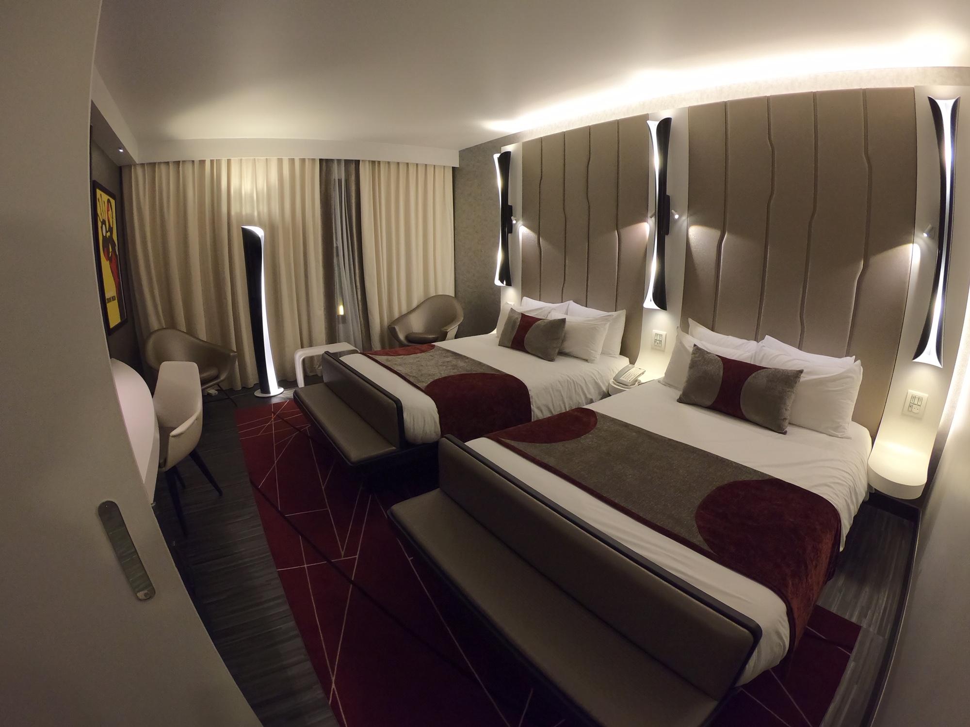 Future chambre hôtel Marvel